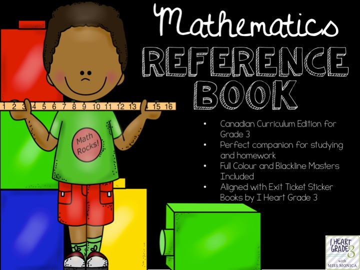 Grade 3 Math Reference Booklet