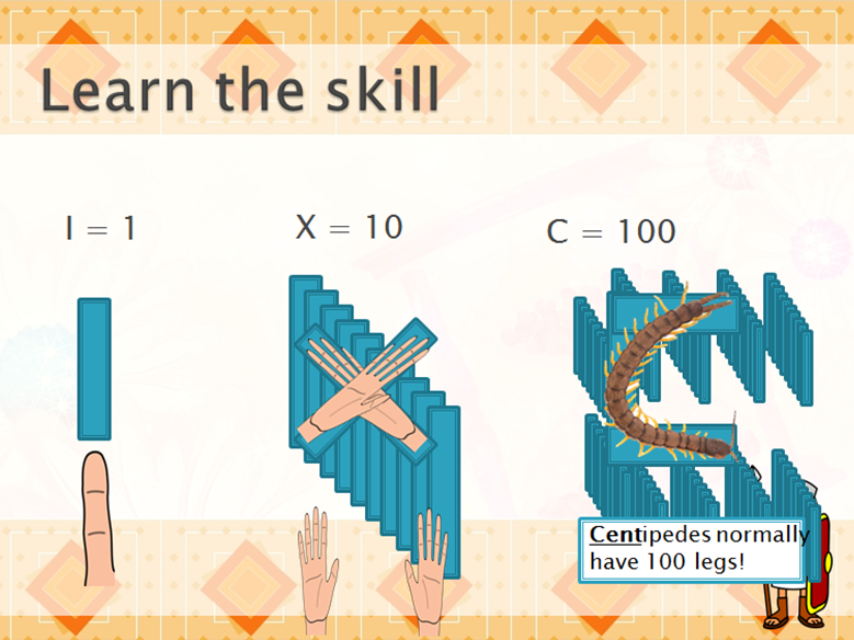 Year 4 - Roman Numerals - Shanghai Mastery Lesson Sequence