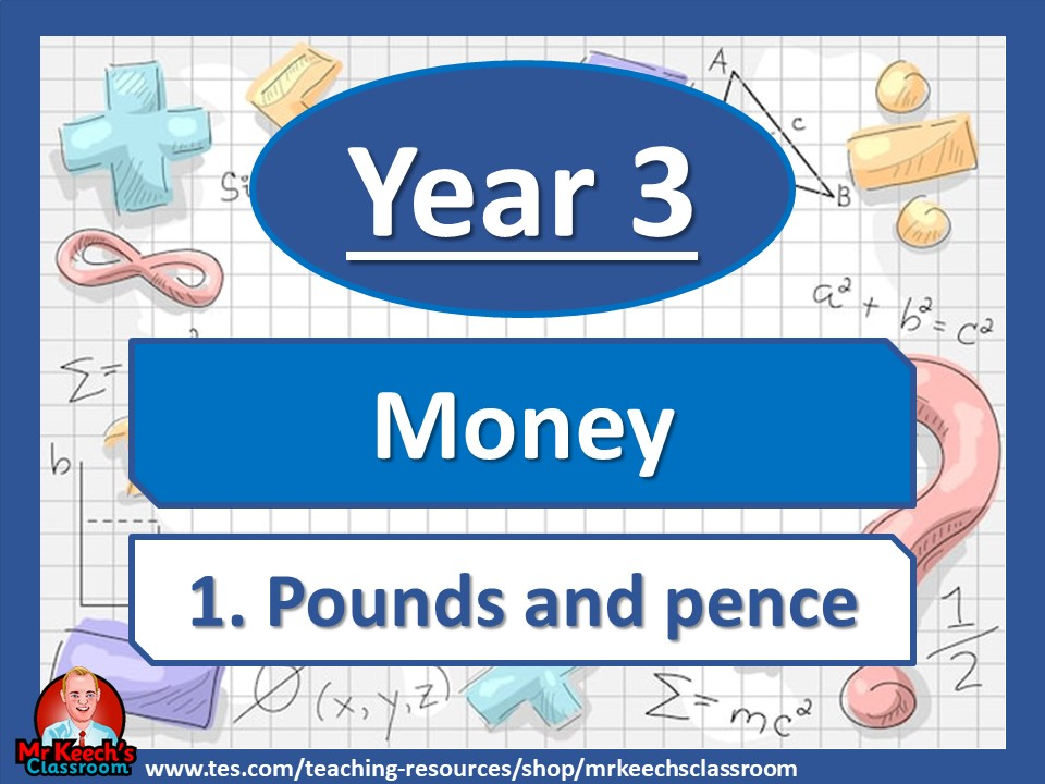 Year 3 – Money – Pounds and pence - White Rose Maths