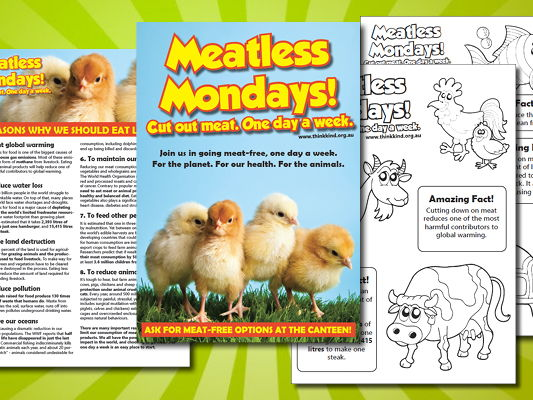 Meatless Mondays School Kit