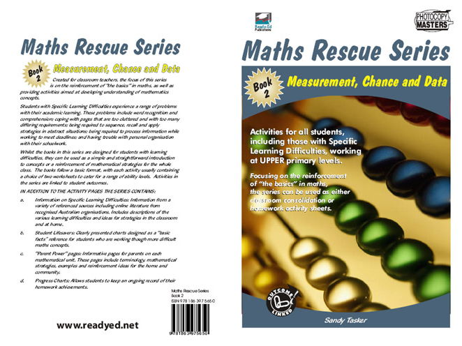Maths Rescue 2: Measurement, Chance and Data (Australian E-book for students at risk)