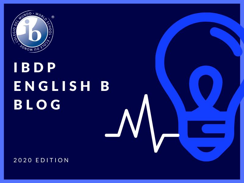 IBDP English B - Text Types - Blog