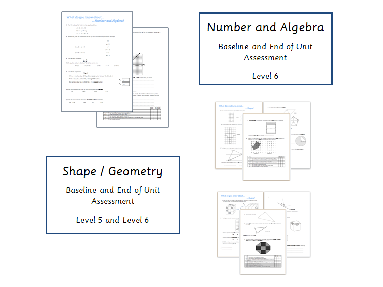 Baseline Maths Assessment Bundle