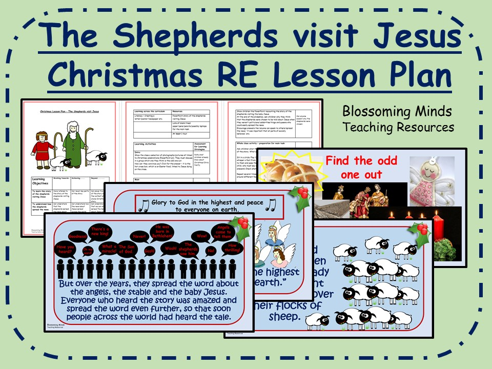 ks2 christmas re lesson the shepherds visit jesus by blossomingminds teaching resources. Black Bedroom Furniture Sets. Home Design Ideas