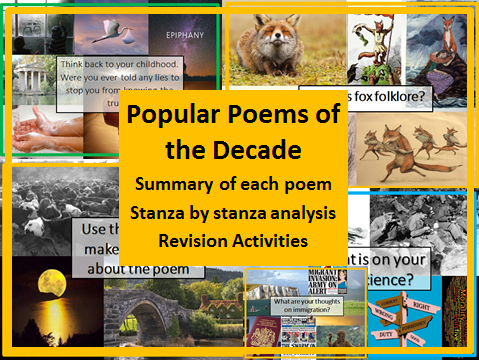 Popular Poems of the Decade