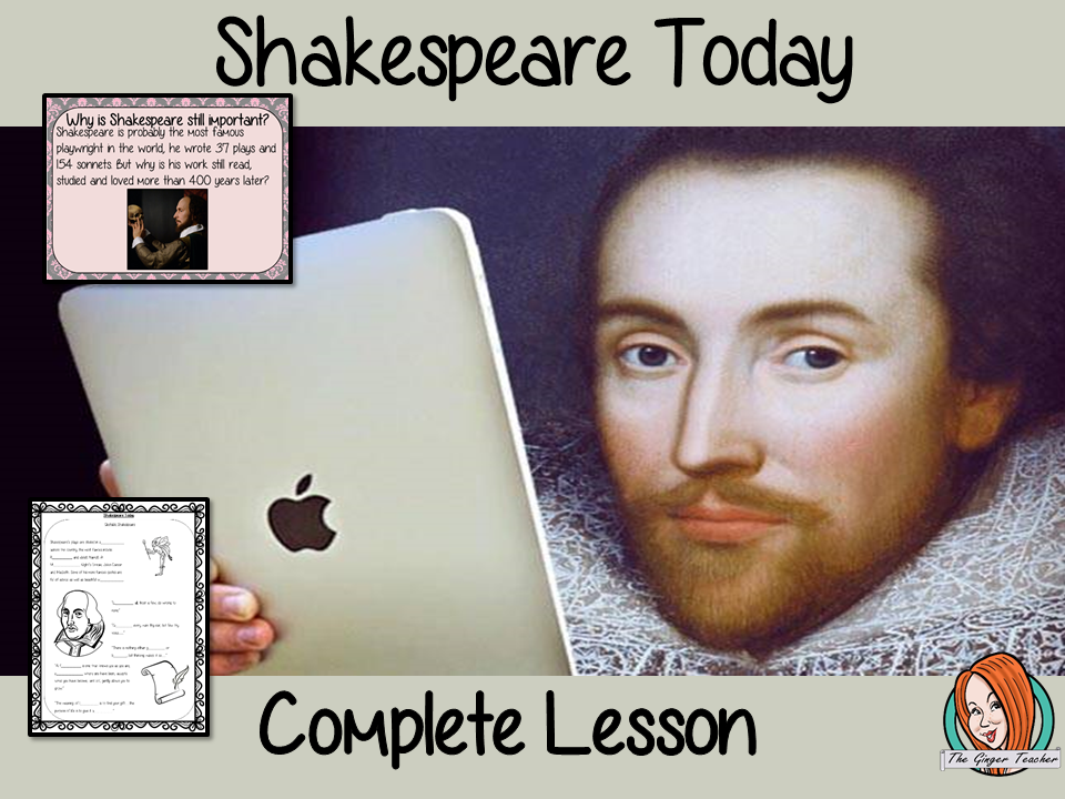 Shakespeare Today Complete Lesson