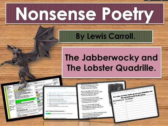 Lewis Carroll nonsense poetry