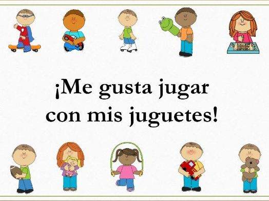 Distance Learning Special: Los juguetes (Verbos) - Minilesson Video+Activities