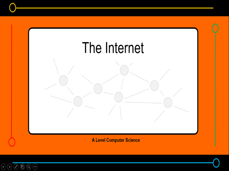 Presentation:   How the Internet works? (x21 slides)