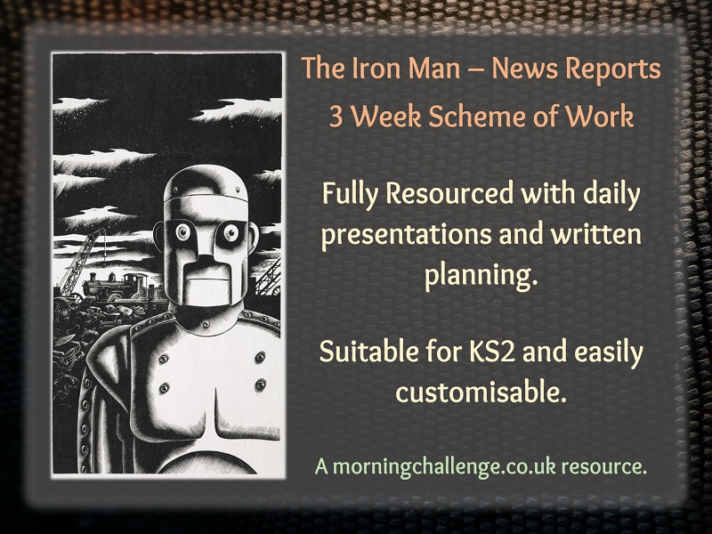 The Iron Man News Reports 3 Week Scheme