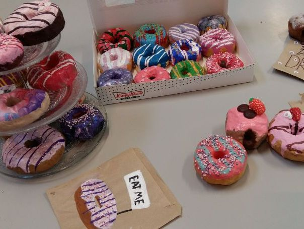 6+ week Donut project. 3D outcome. In class/remote learning. KS2/3/4. Fun and funky. Bundle.
