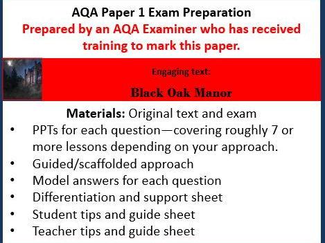 AQA GCSE English Language Paper 1 Exam Preparation