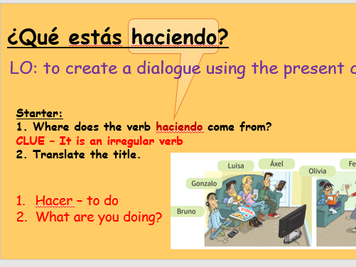 Mi gente - 3 unit preparation - Viva edexcel foundation