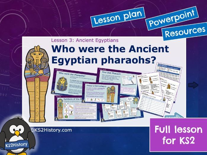 Ancient Egyptian Pharaohs (Lesson)
