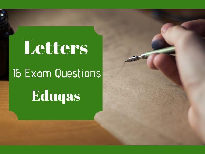 Eduqas Transactional Writing Letters