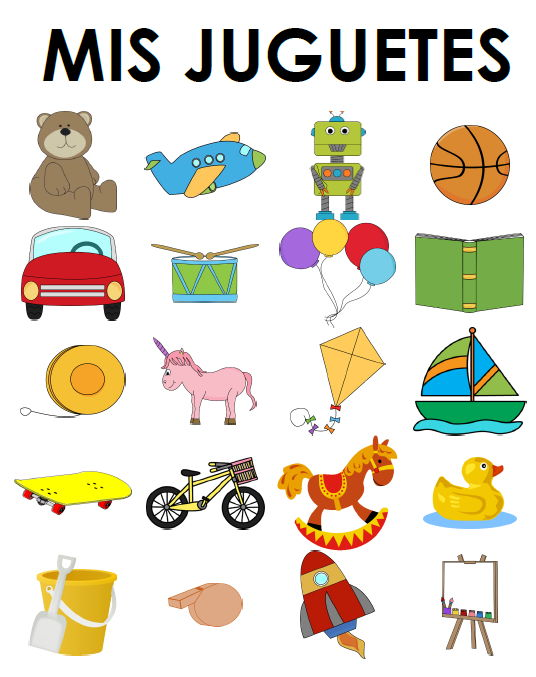 Juegos y juguetes - Paquete de recursos