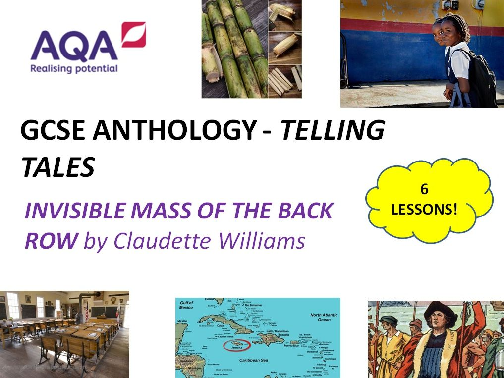 TELLING TALES - Invisible Mass of the Back Row 6 Lessons