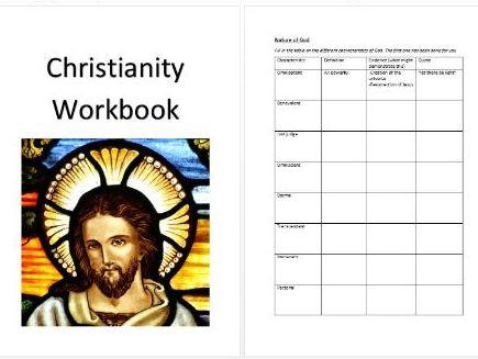 AQA GCSE Christianity workbook