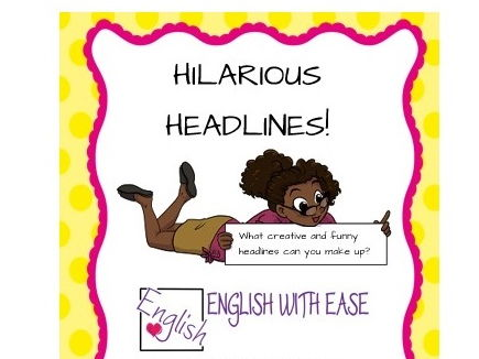 Hilarious Headlines game