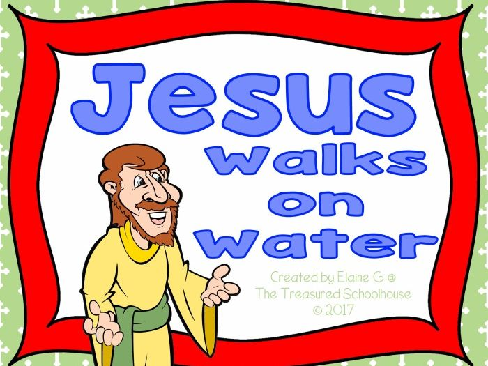 All About Jesus Walks on Water