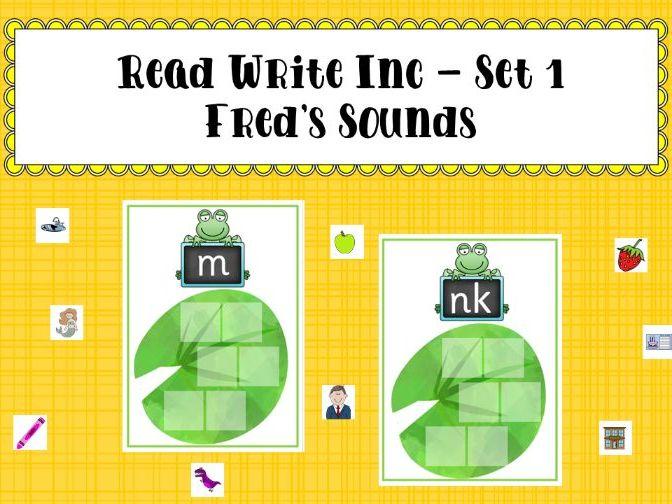 Read Write Inc Set 1 - Fred's Sounds