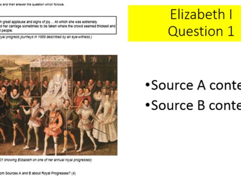 GCSE History Eduqas - Quick revision to answer question