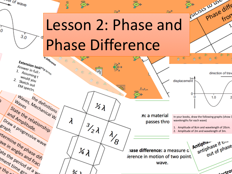 Waves - Phase and phase difference (lesson 2)