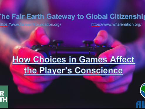 Choices in Video Games - Fair Earth Resources
