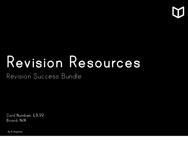 Revision Resources I  Collection Bundle
