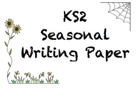 KS2 Seasonal Writing Paper