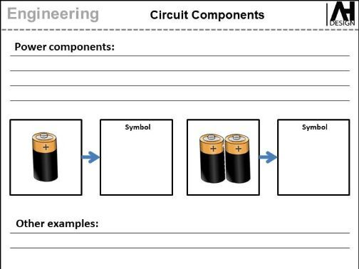 Circuit Components Worksheets