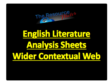 Literature Analysis Sheets Wider Contextual Web