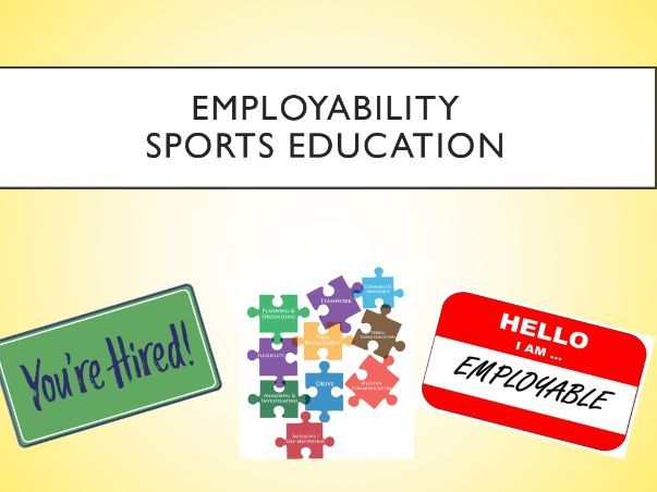 Sports Education SOW with Employability Student Developmental Theory.