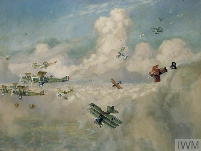 What impact did the First World War have on aircraft and aerial warfare?