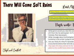 'There will come soft rains' Short story mini-scheme