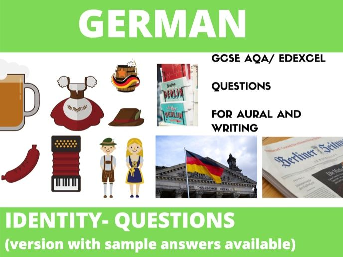 German  Identity Questions