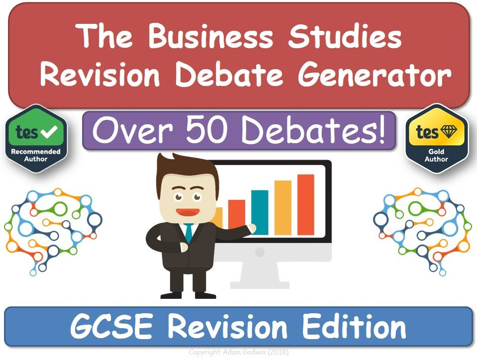 The Business Studies Revision Debate Generator (GCSE, Revision, KS4, Business)