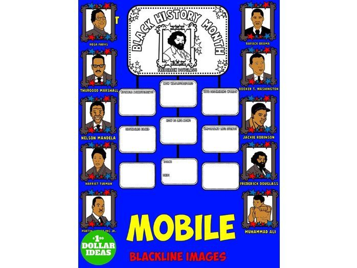 BLACK HISTORY MONTH ACTIVITIES   BIOGRAPHY MOBILE