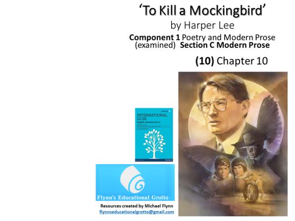 GCSE Literature: (10) 'To Kill a Mockingbird' – Chapter 10
