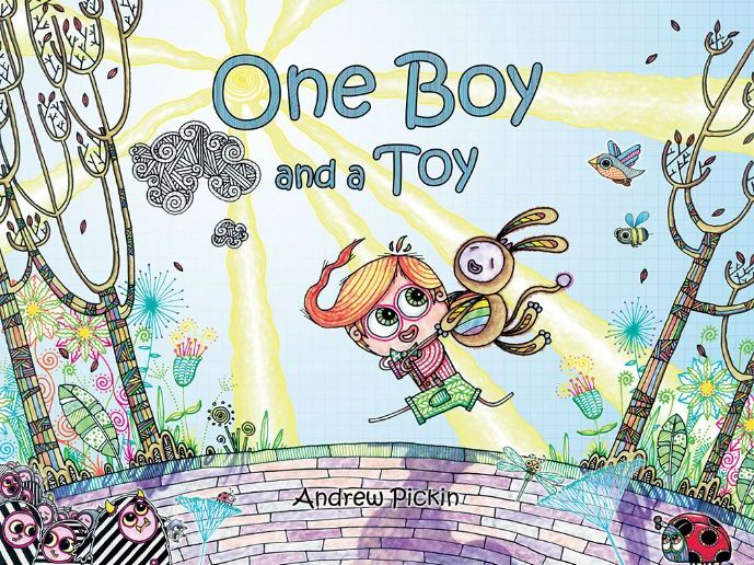 One Boy and a Toy - Children's Illustrated Book - English Language  Reading Fiction Art Design