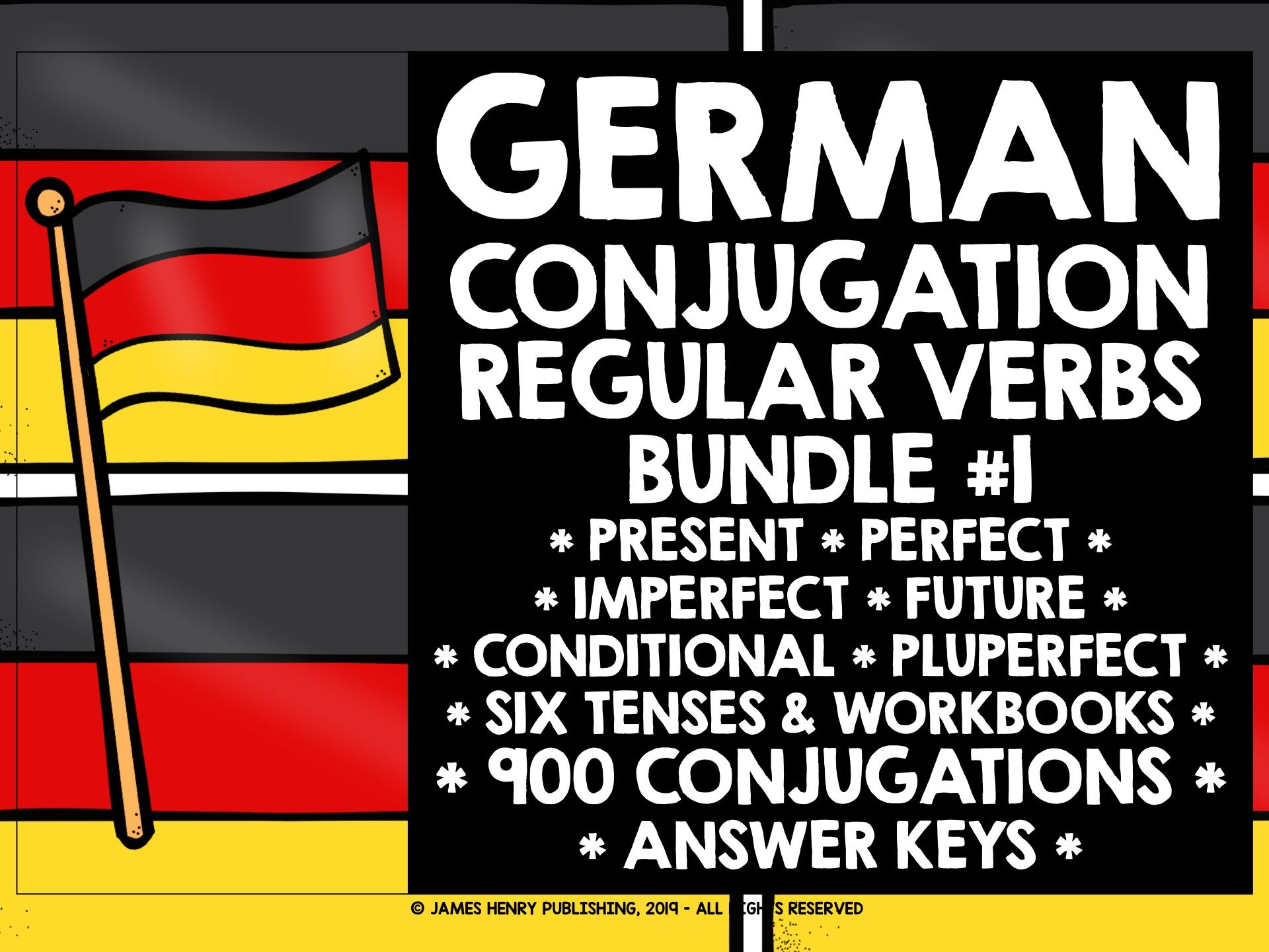 GERMAN REGULAR VERBS CONJUGATION WORKBOOKS #2