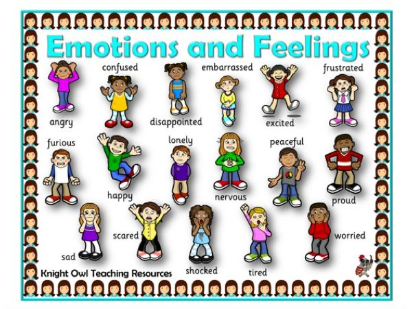 Emotions Word Mat
