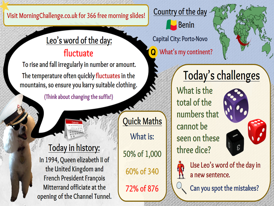 366 Morning Challenges for KS2