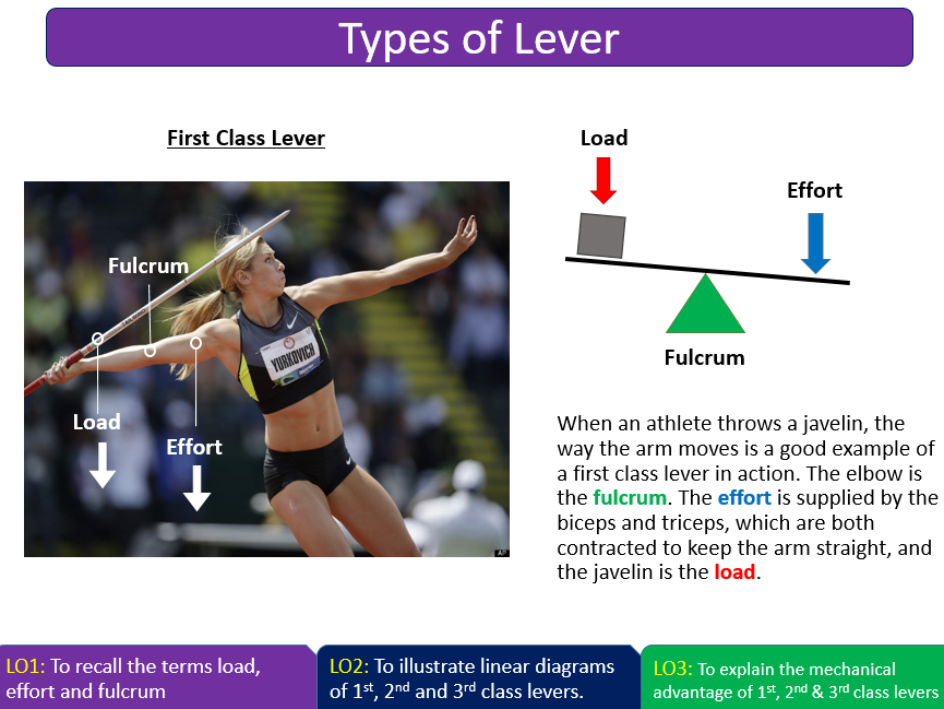 Lever Systems And Mechanical Advantage Aqa Gcse Pe 9 1 By