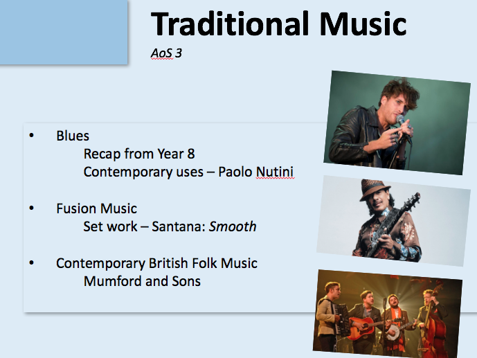 KS4: Introduction to AoS3: Traditional Music (AQA GCSE Music)