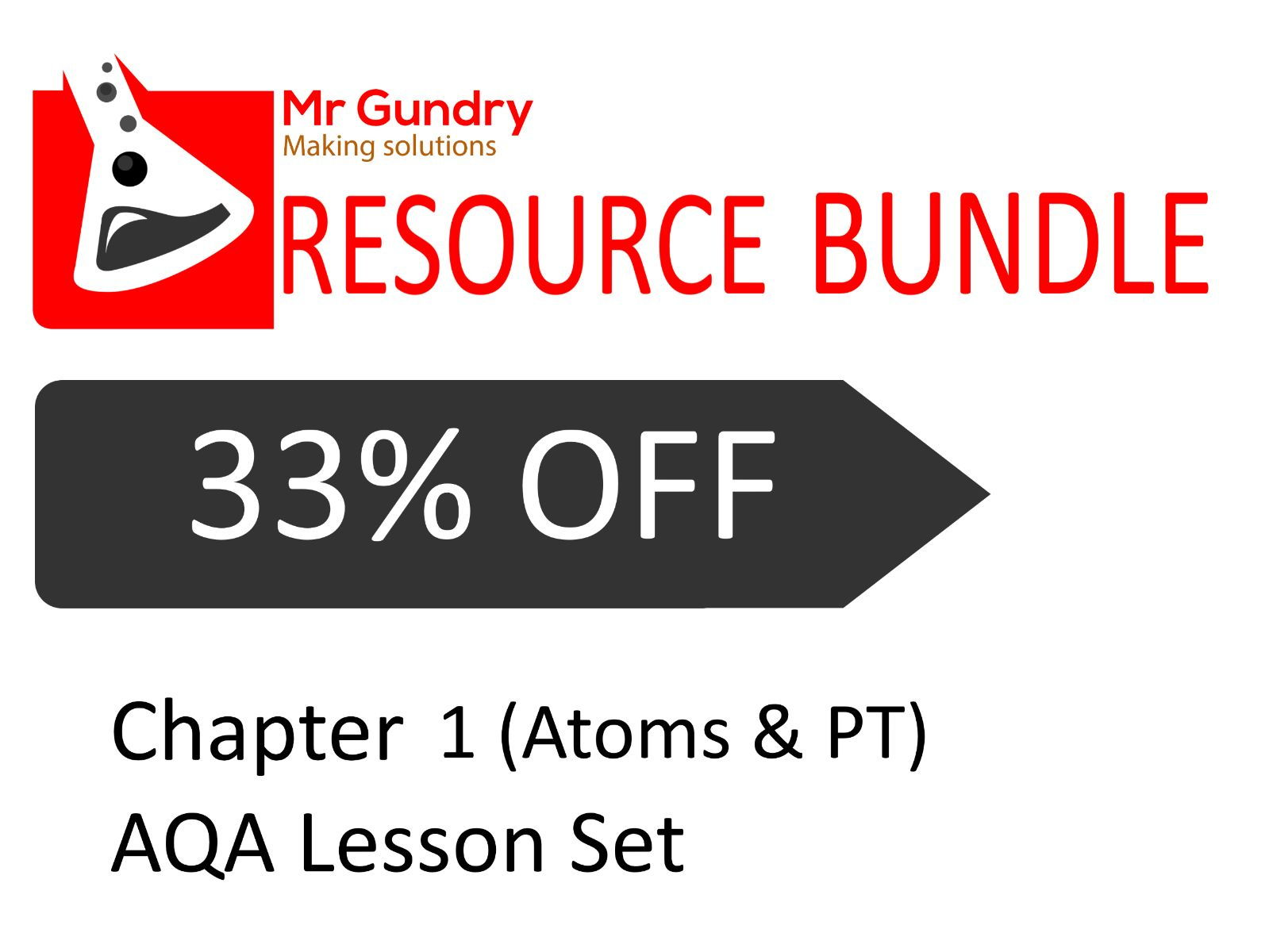AQA Chapter 1 (Atoms & PT) Lesson Set