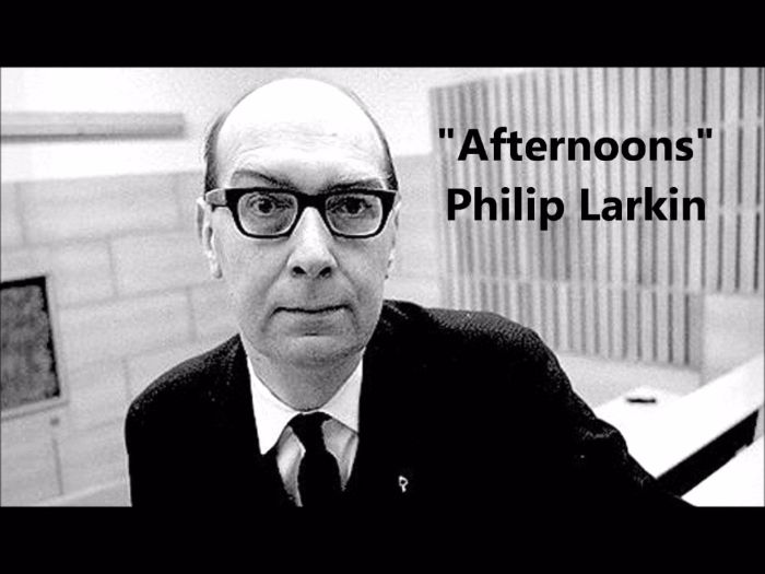 Afternoons by Larkin Eduqas Post-1789 poetry