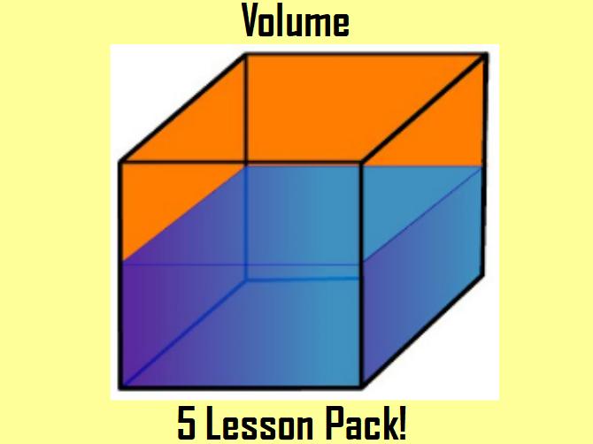 Volume Lesson Pack x 5