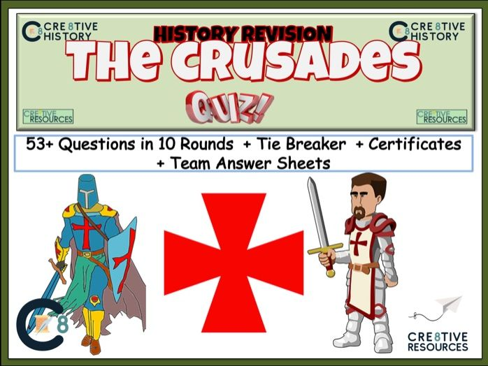 The Crusades Revision Quiz