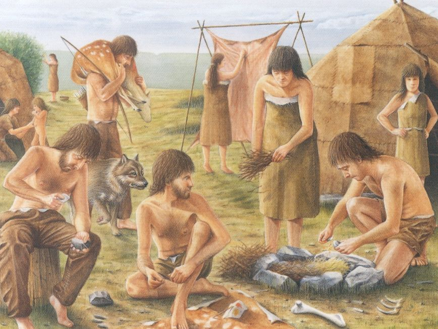LKS2 History Medium Term Plan - Stone Age to Iron Age